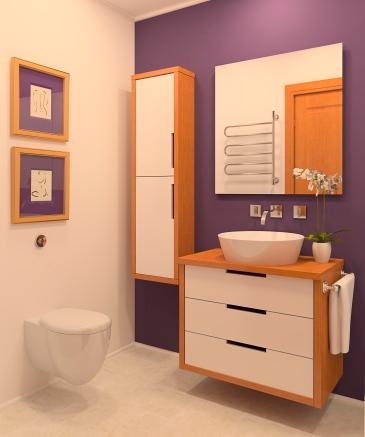 peinture toilette WC