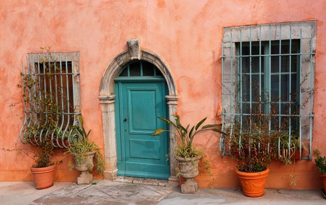 peinture porte & façade maison