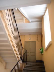 travaux rénovation peinture cage escalier